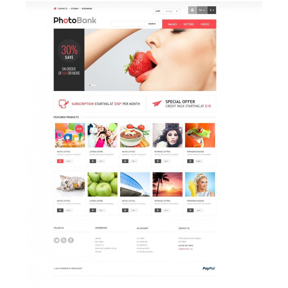 theme - Arte y Cultura - Responsive Photo Bank - 4