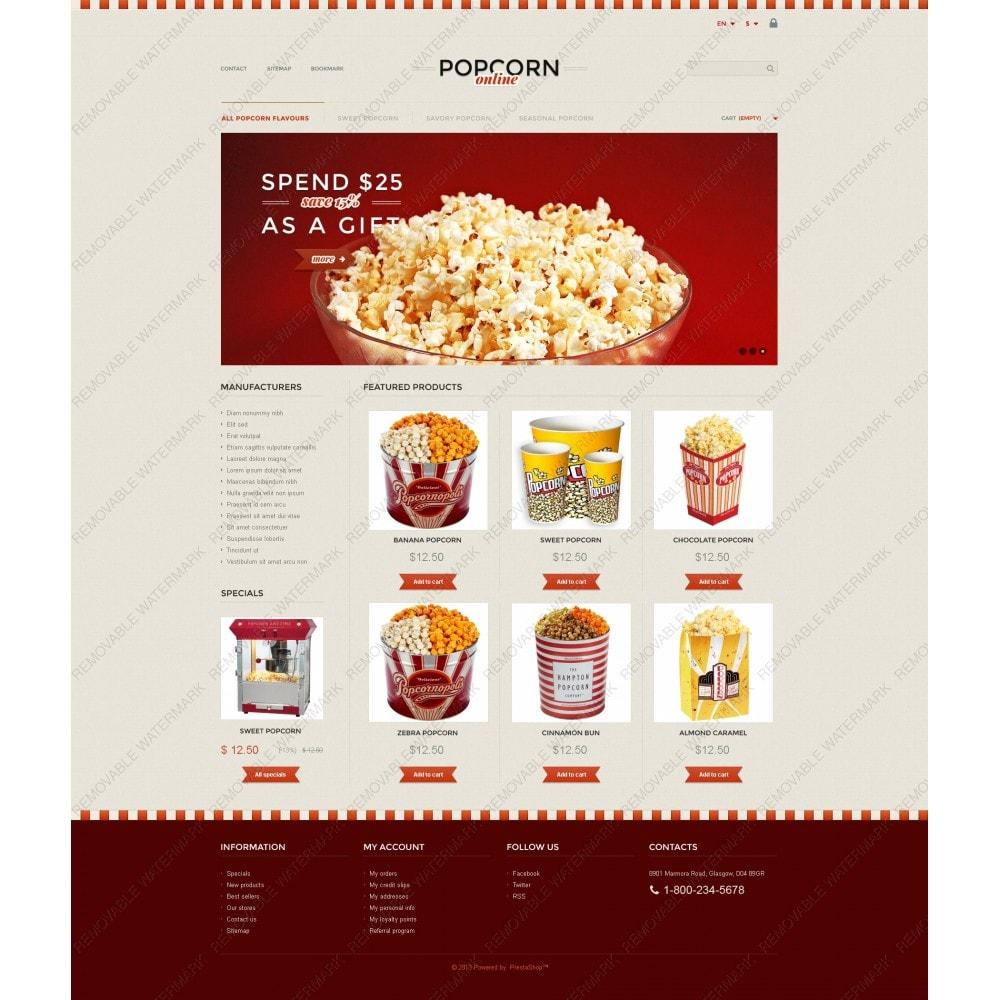 theme - Продовольствие и рестораны - Responsive Popcorn Store - 3