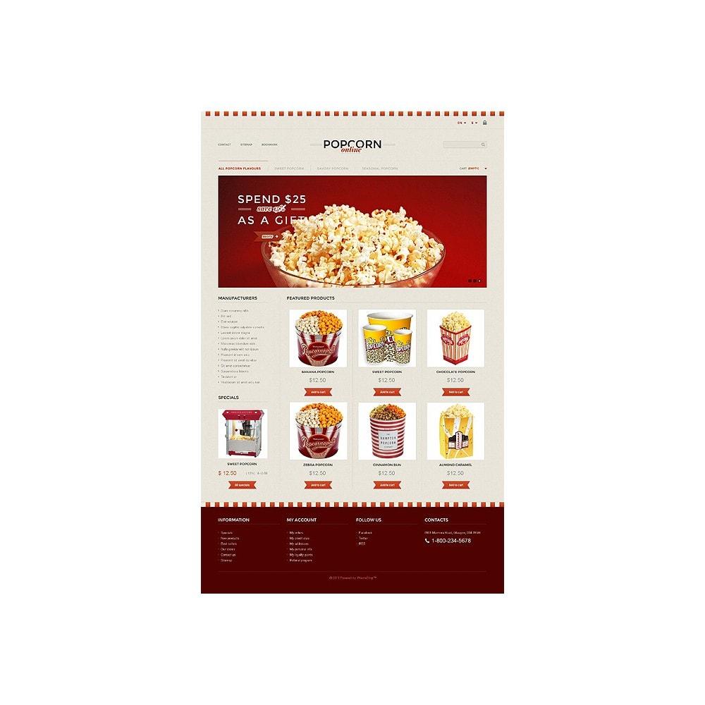 theme - Alimentation & Restauration - Responsive Popcorn Store - 10