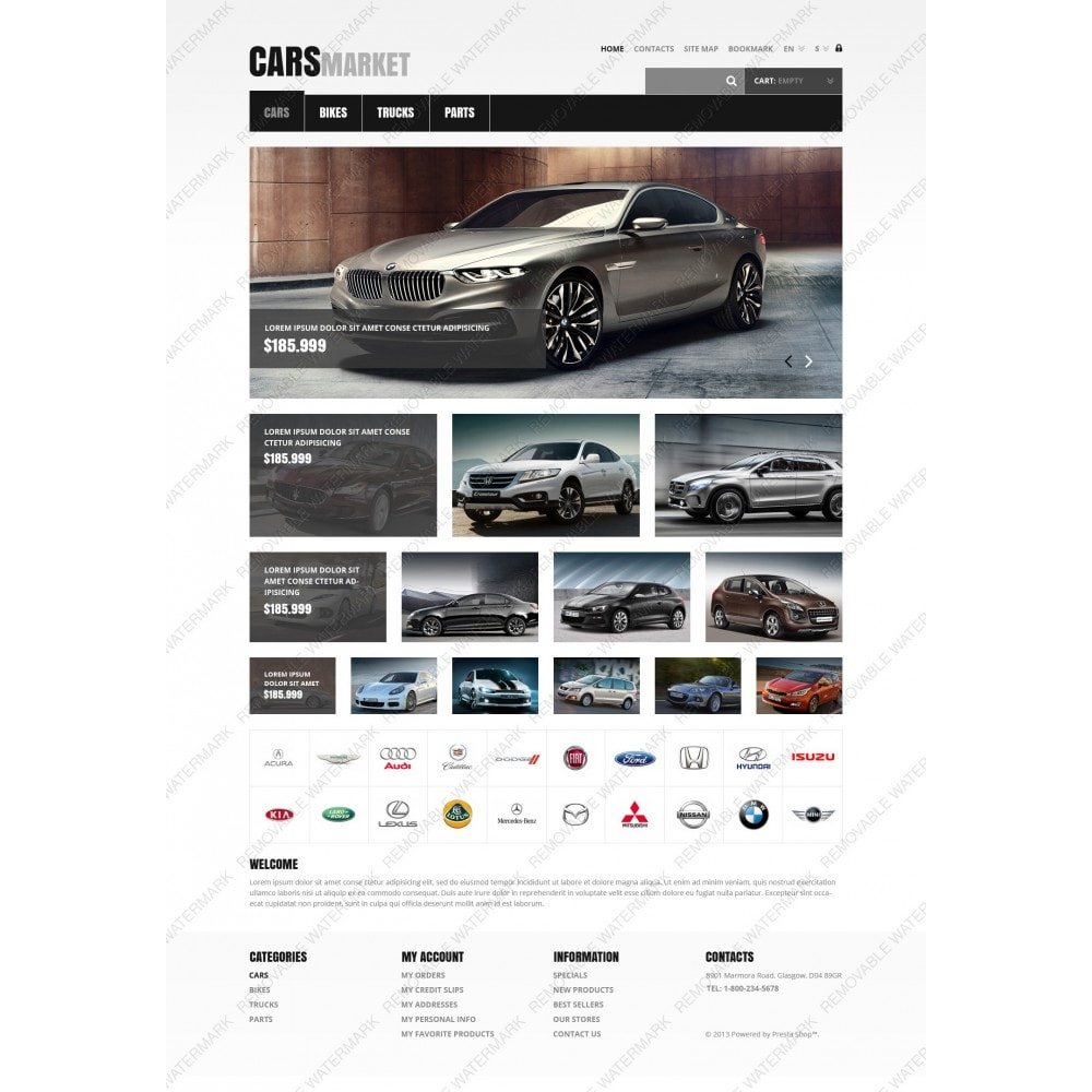 theme - Carros & Motos - Cars and Parts - 3