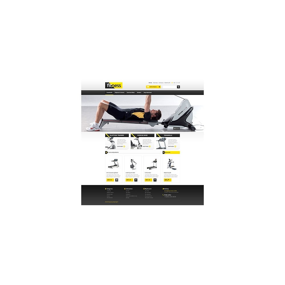 theme - Sports, Activities & Travel - Responsive Fitness Store - 10