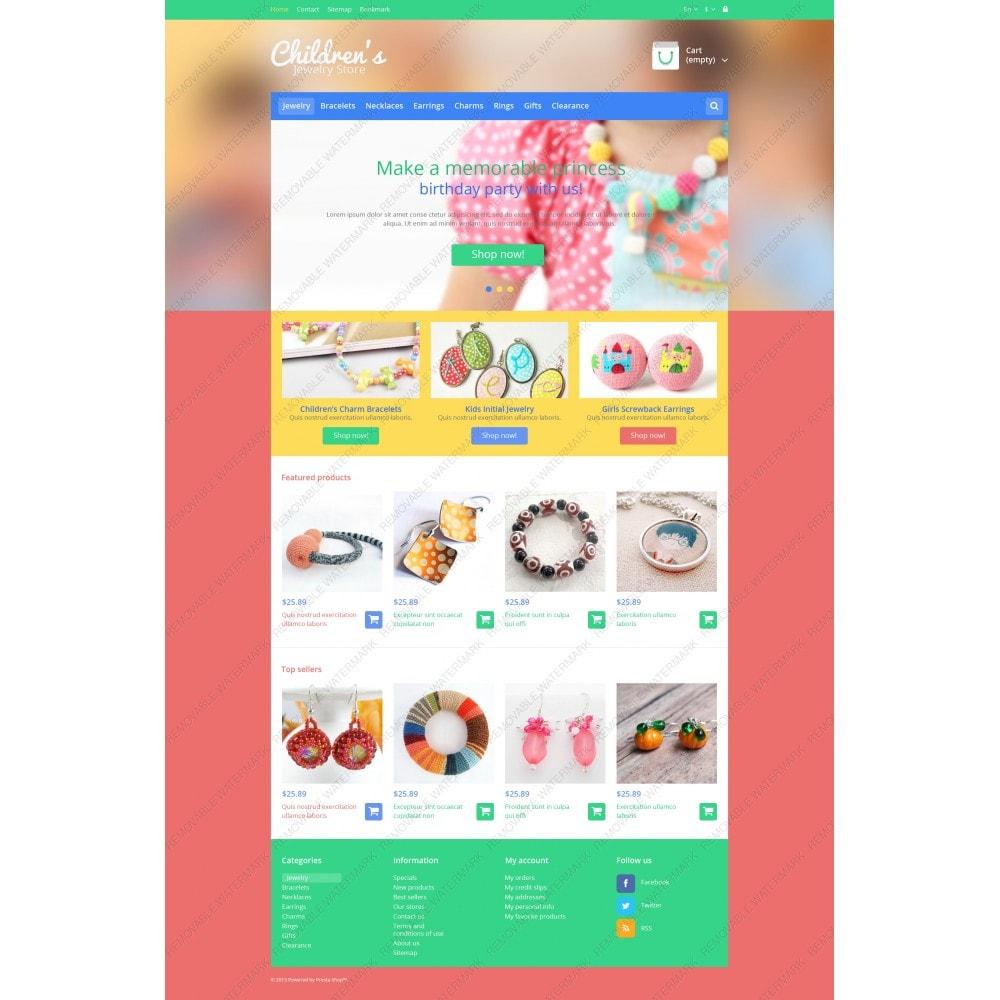 theme - Moda y Calzado - Children's Jewelry Store - 3