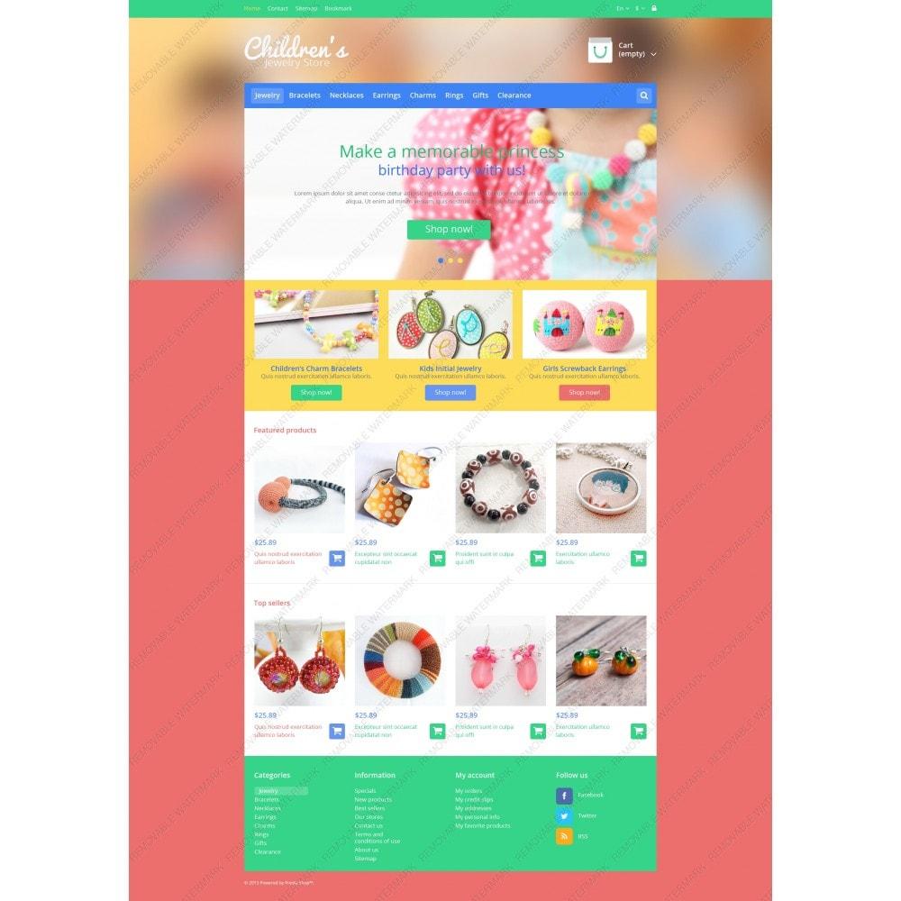 theme - Moda y Calzado - Children's Jewelry Store - 5