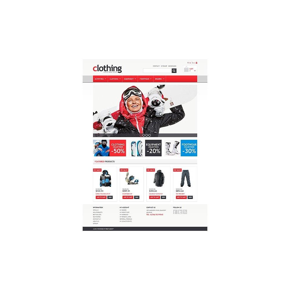 theme - Спорт и Путешествия - Responsive Clothing Store - 10