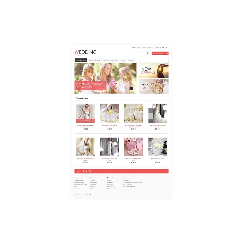 theme - Mode & Schuhe - Responsive Wedding Store - 10