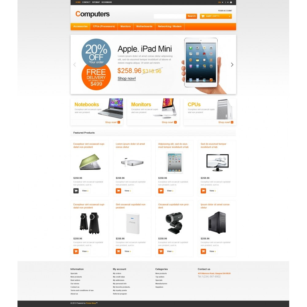 theme - Eletrônicos & High Tech - Responsive Computers Store - 4