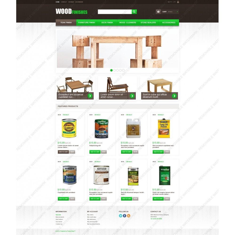 theme - Kunst & Kultur - Wood Finishes - 5