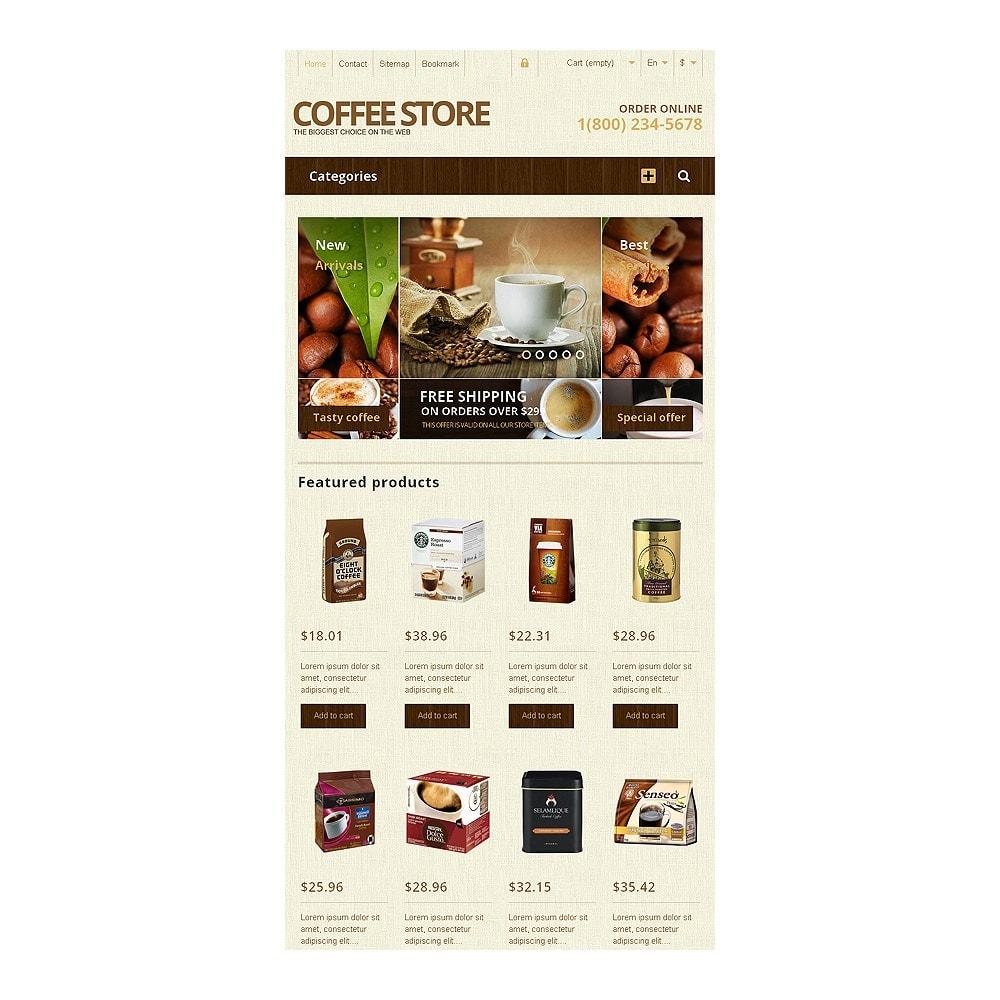 theme - Продовольствие и рестораны - Responsive Coffee Store - 7