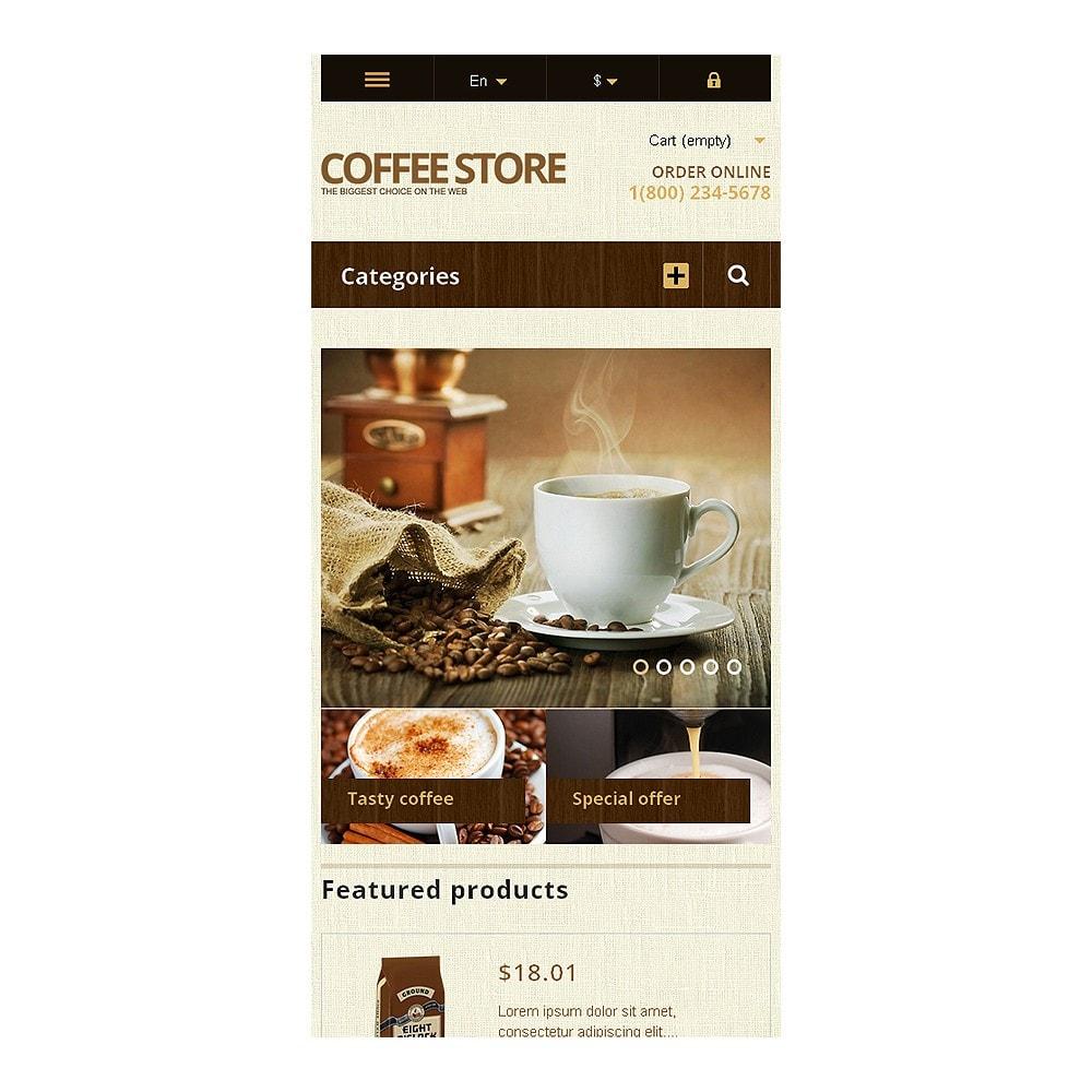 theme - Продовольствие и рестораны - Responsive Coffee Store - 8