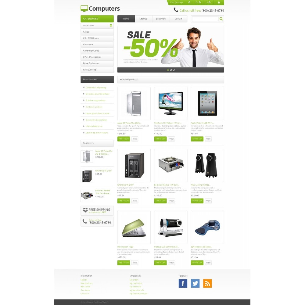 theme - Electronique & High Tech - Responsive Computers Store - 2