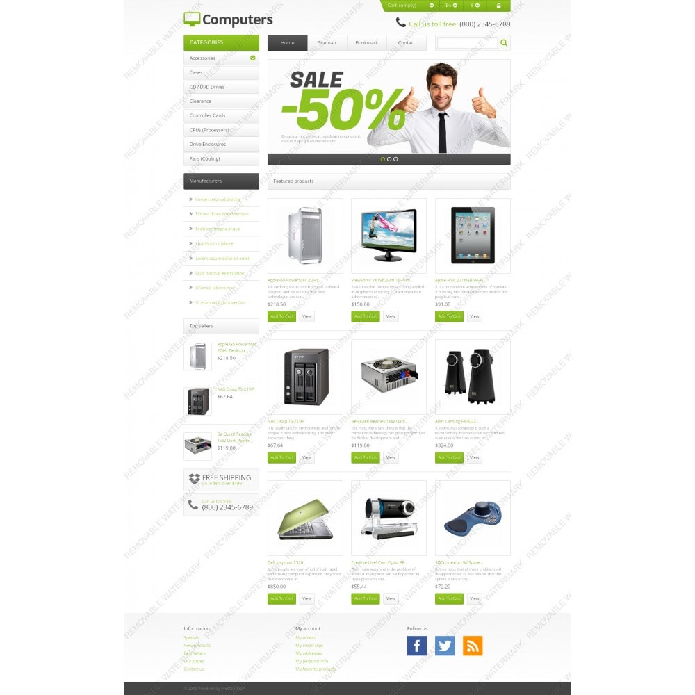 theme - Eletrônicos & High Tech - Responsive Computers Store - 3