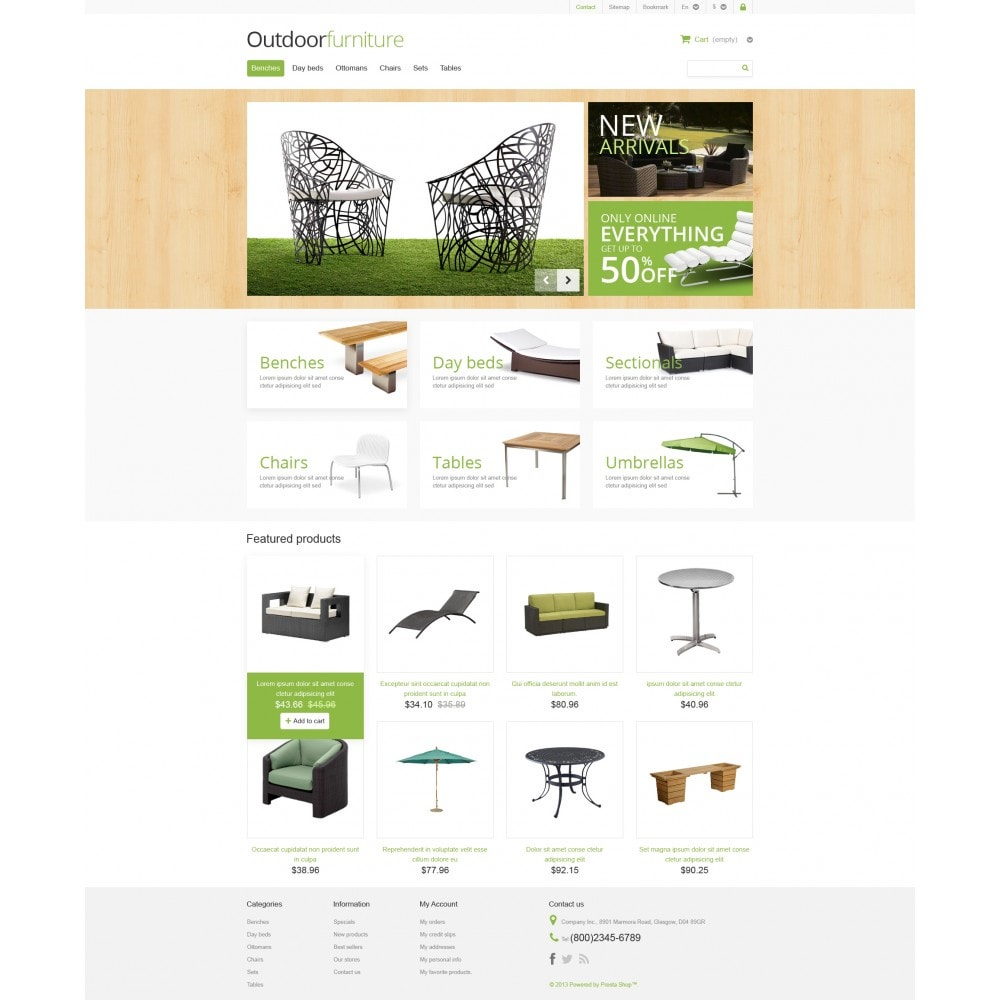 theme - Art & Culture - Outdoor Furniture Store - 4