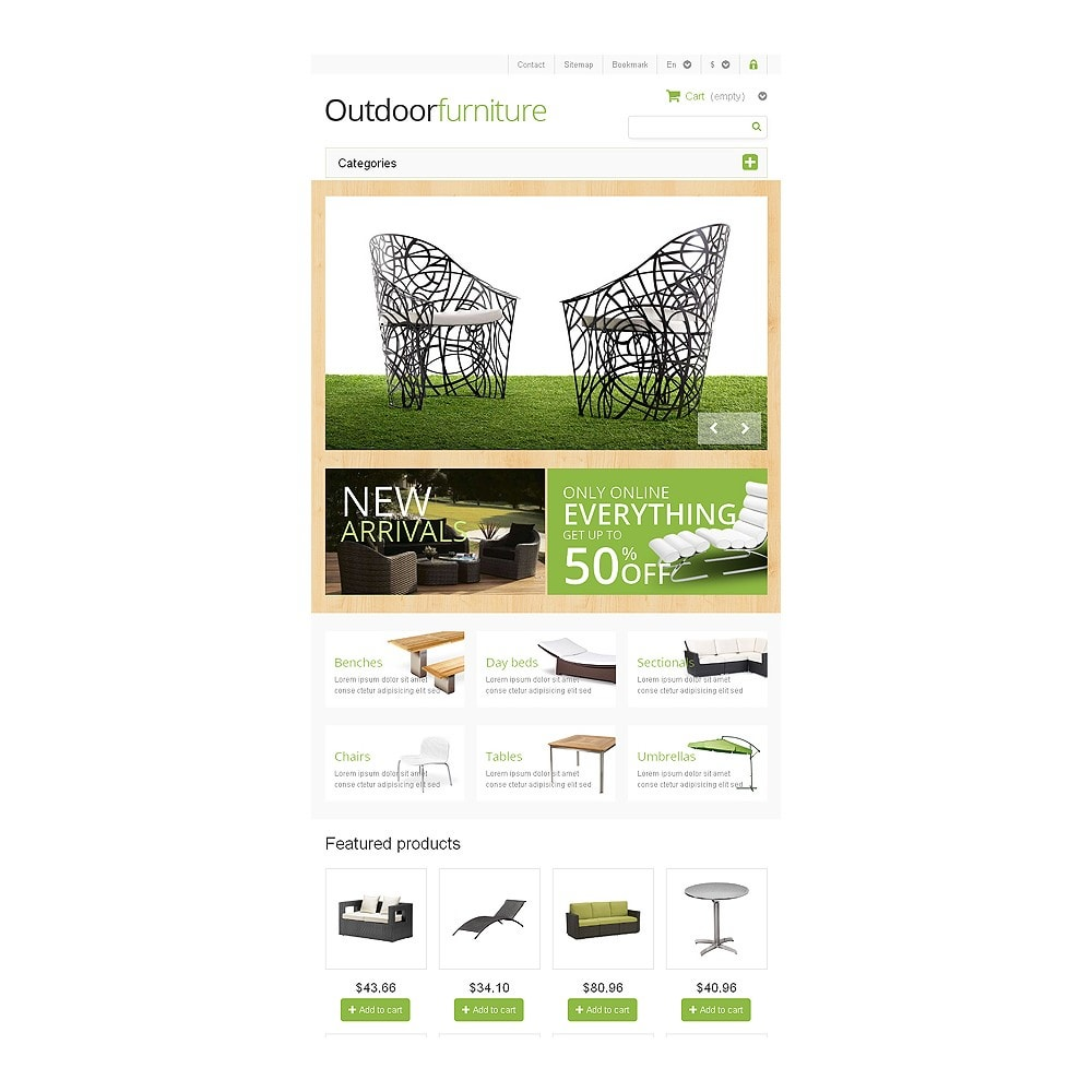 theme - Art & Culture - Outdoor Furniture Store - 7