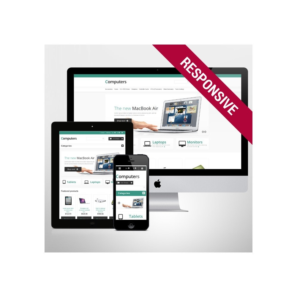 theme - Elettronica & High Tech - Responsive Computers Store - 1