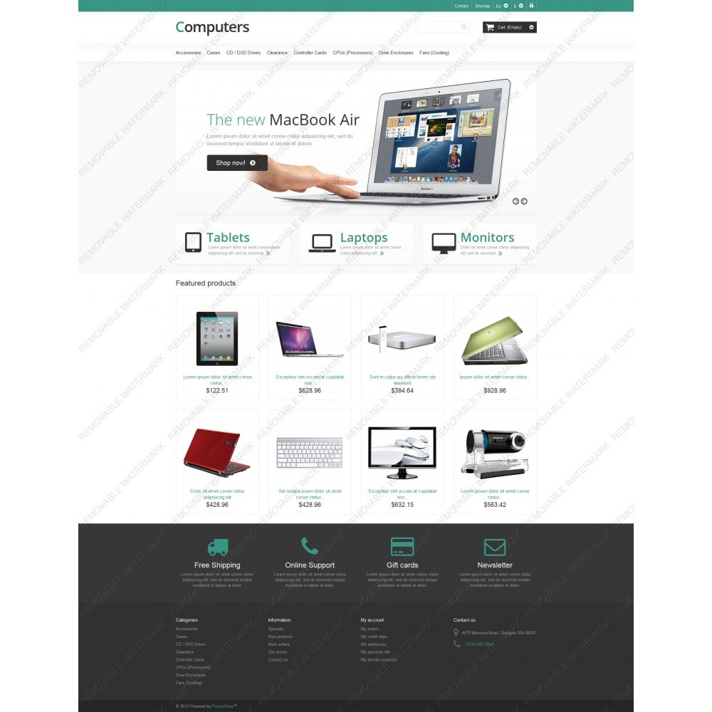 theme - Elettronica & High Tech - Responsive Computers Store - 3