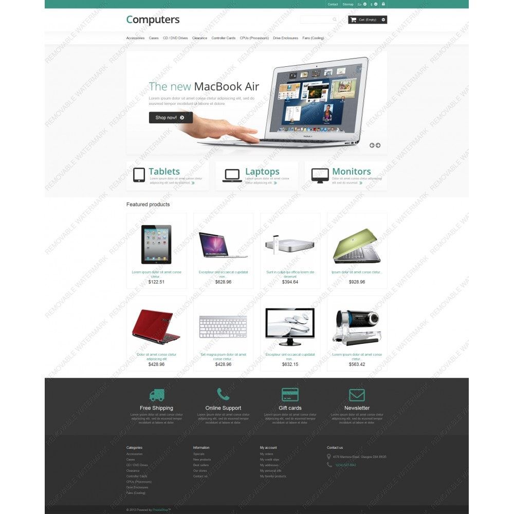 theme - Elettronica & High Tech - Responsive Computers Store - 5
