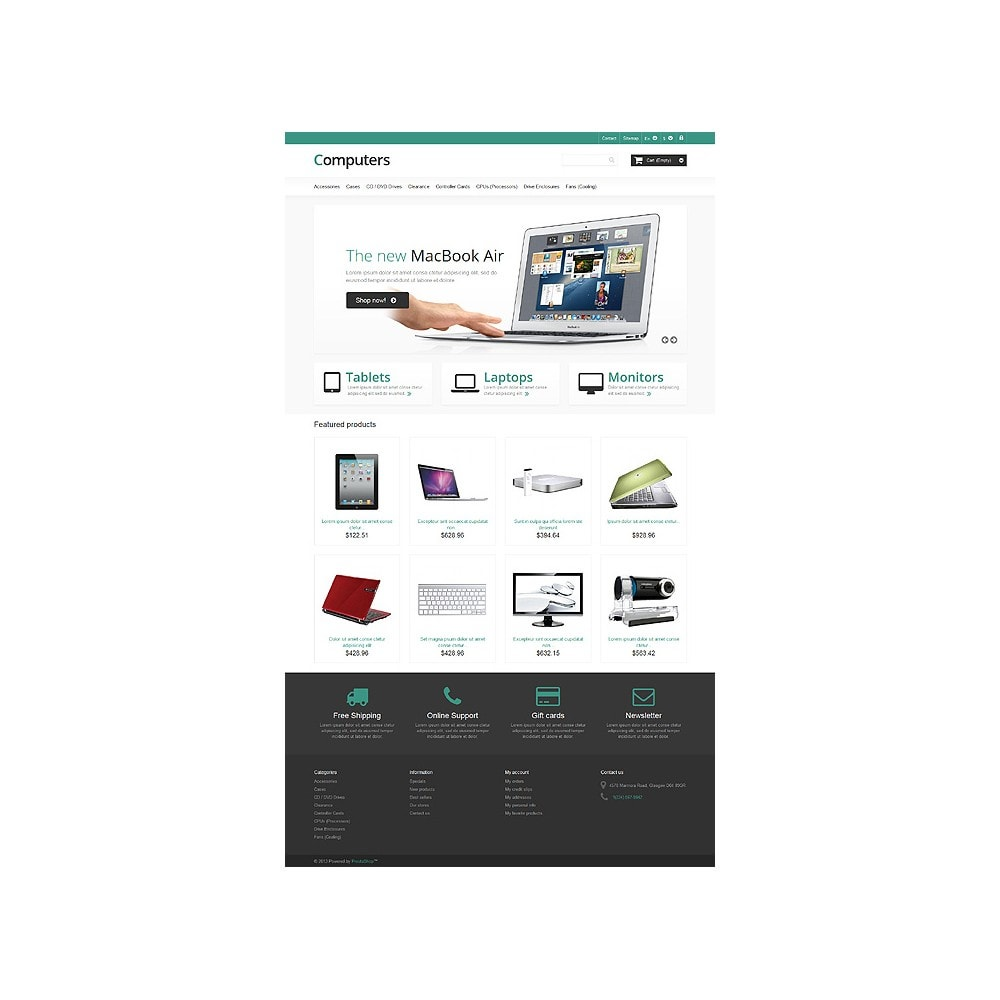 theme - Elettronica & High Tech - Responsive Computers Store - 10