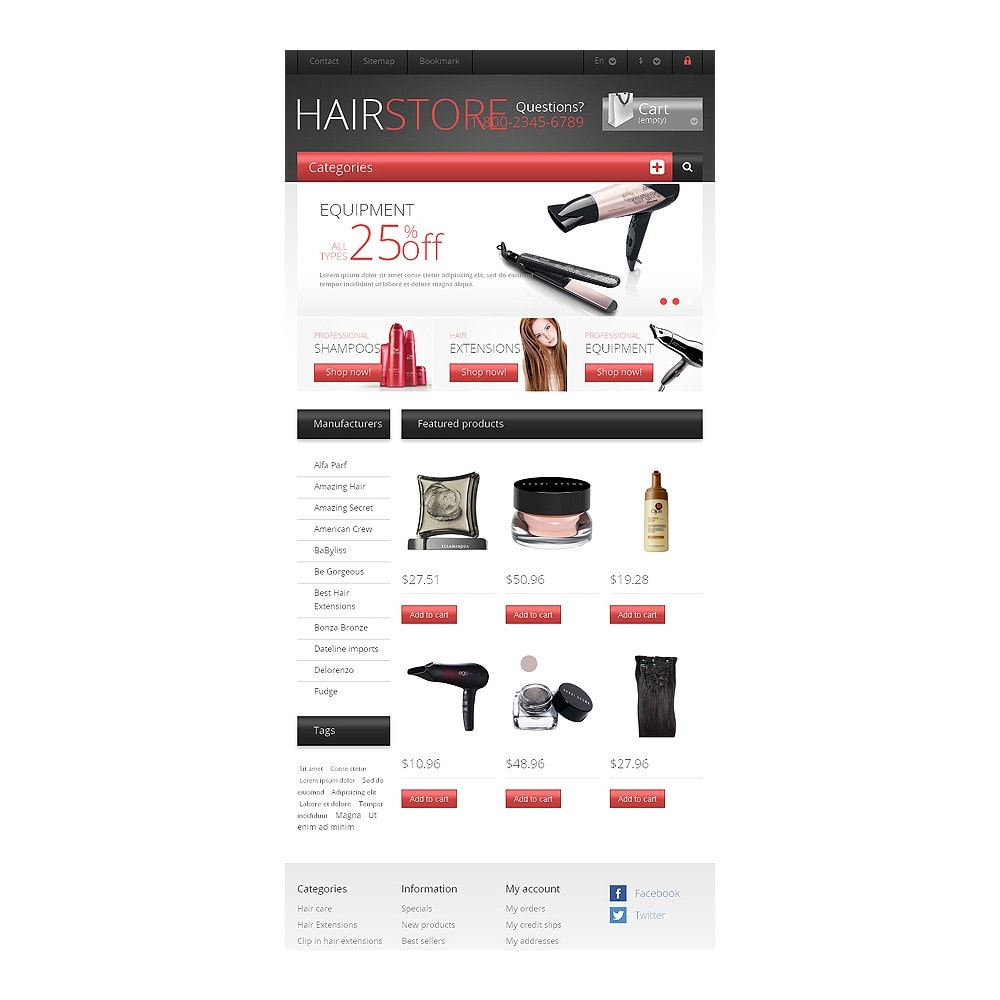 theme - Mode & Chaussures - Responsive Hair Store - 7