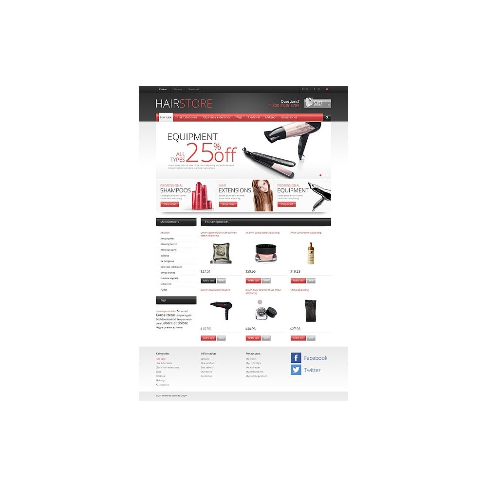 theme - Mode & Chaussures - Responsive Hair Store - 10