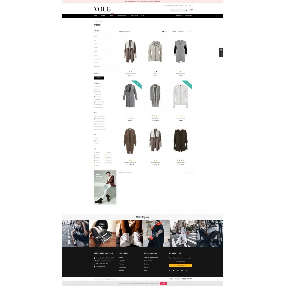 theme - Moda y Calzado - Vogue - Fashion Store - 3