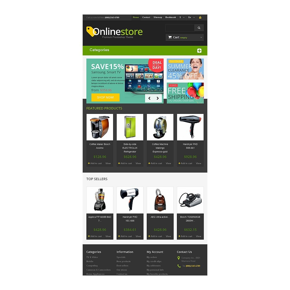 theme - Electronique & High Tech - Responsive Online Store - 7
