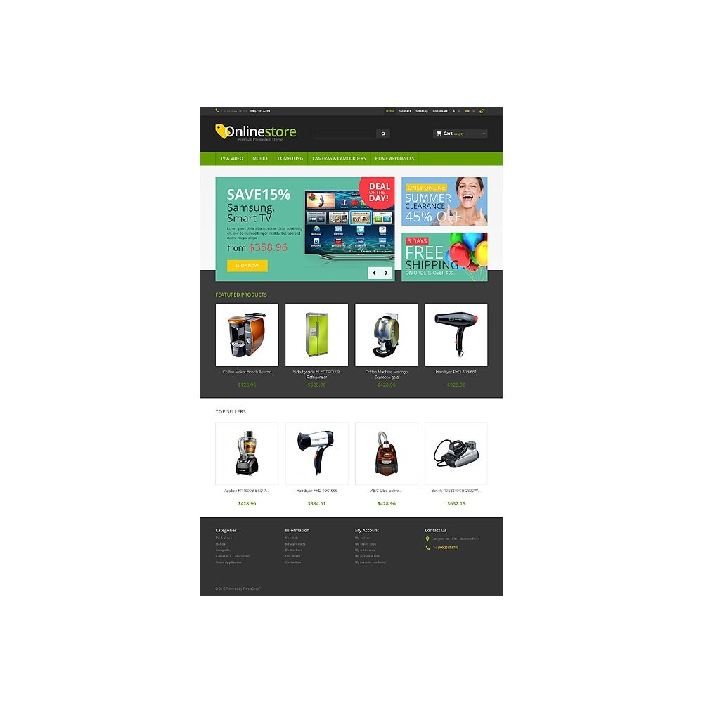 theme - Electronique & High Tech - Responsive Online Store - 10