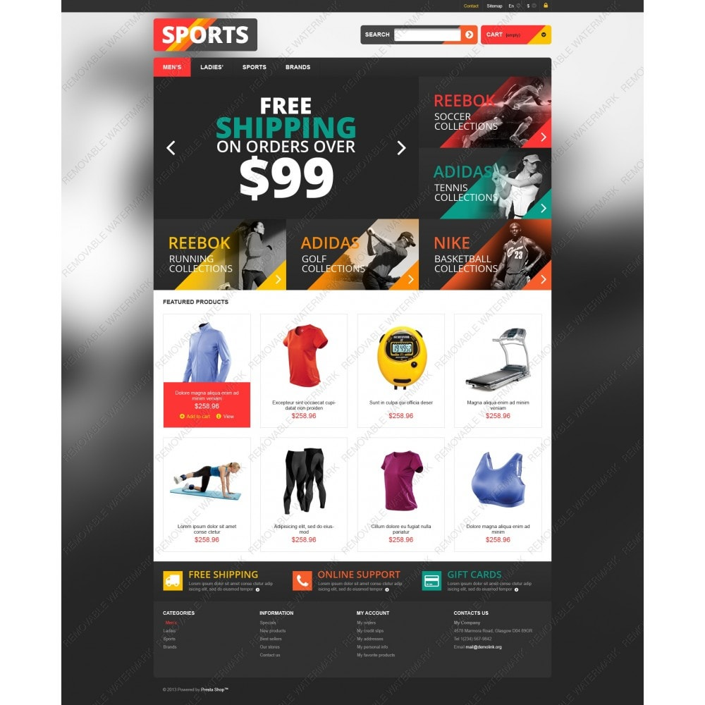 theme - Sport, Loisirs & Voyage - Responsive Sports Store - 3