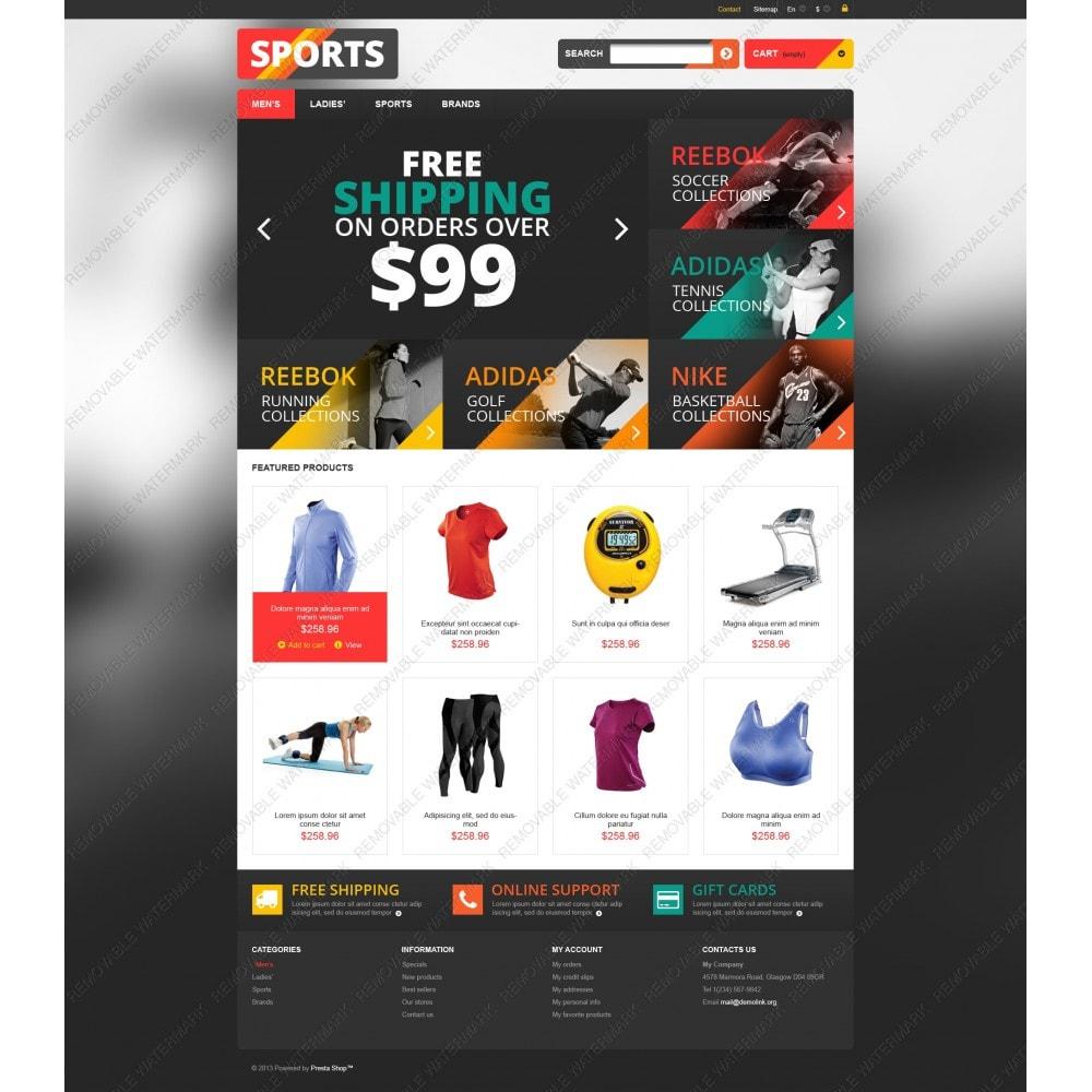 theme - Sport, Loisirs & Voyage - Responsive Sports Store - 5
