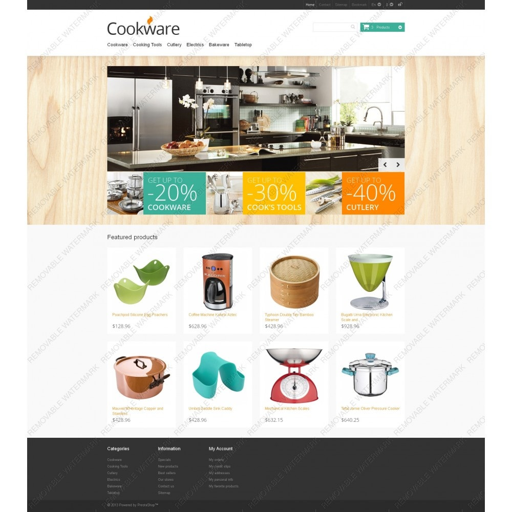 theme - Искусство и Культура - Responsive Cookware Store - 3