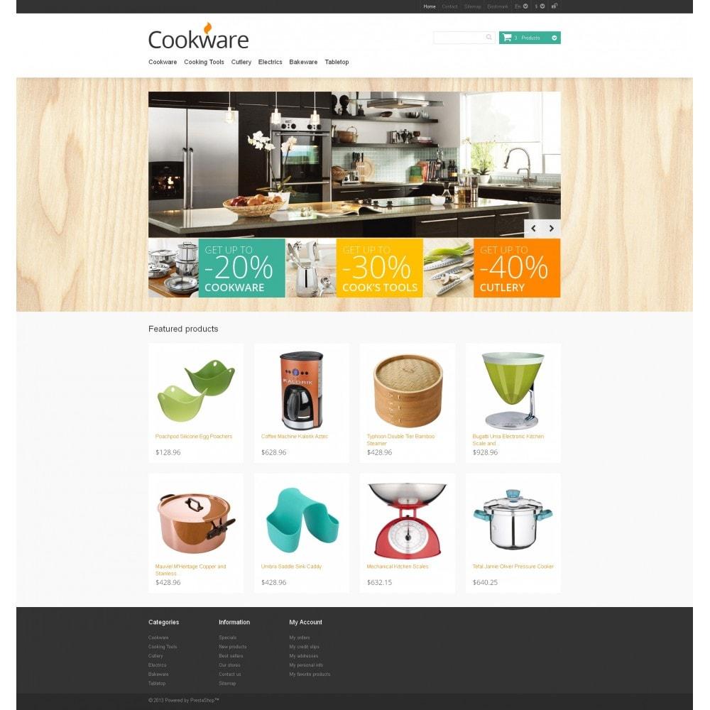 theme - Искусство и Культура - Responsive Cookware Store - 4