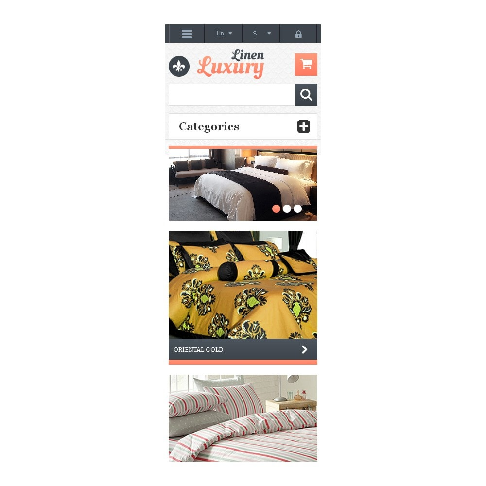 theme - Kultura & Sztuka - Responsive Linen Store - 9