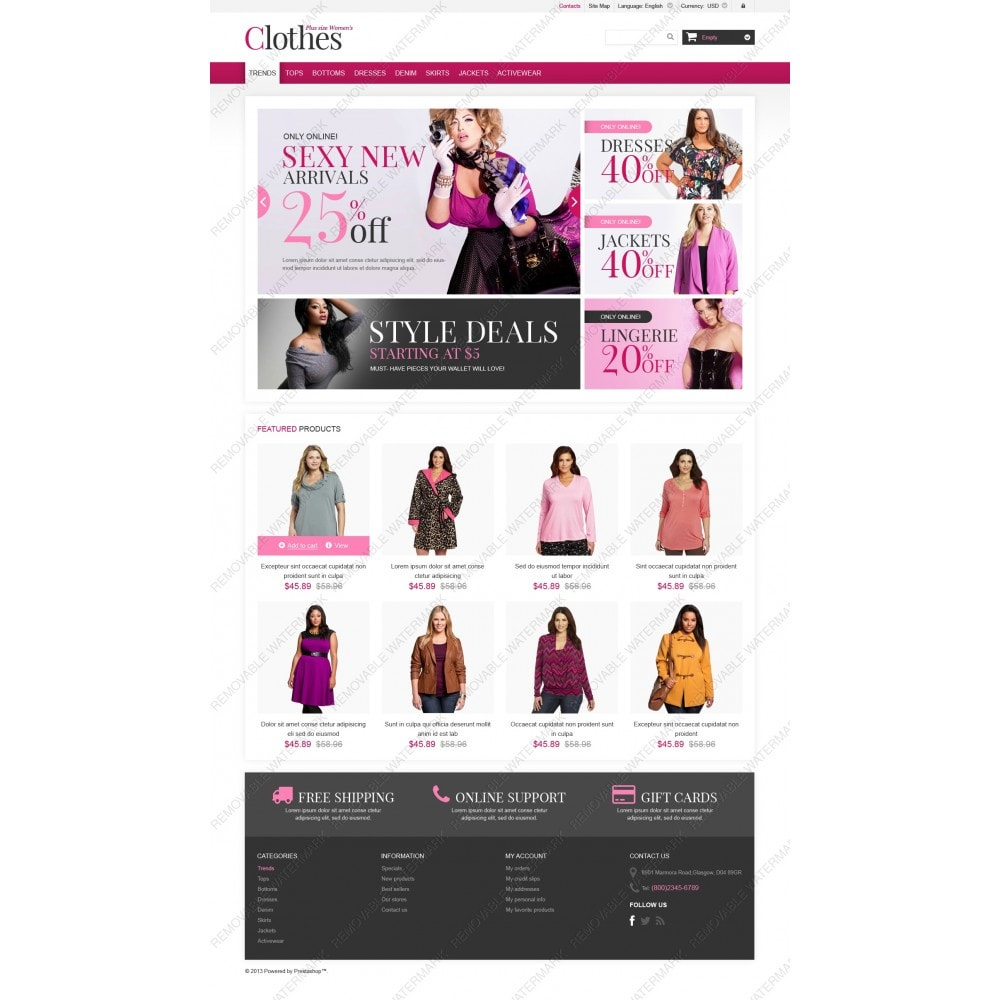 theme - Moda & Calzature - Plus Size Clothes Store - 3
