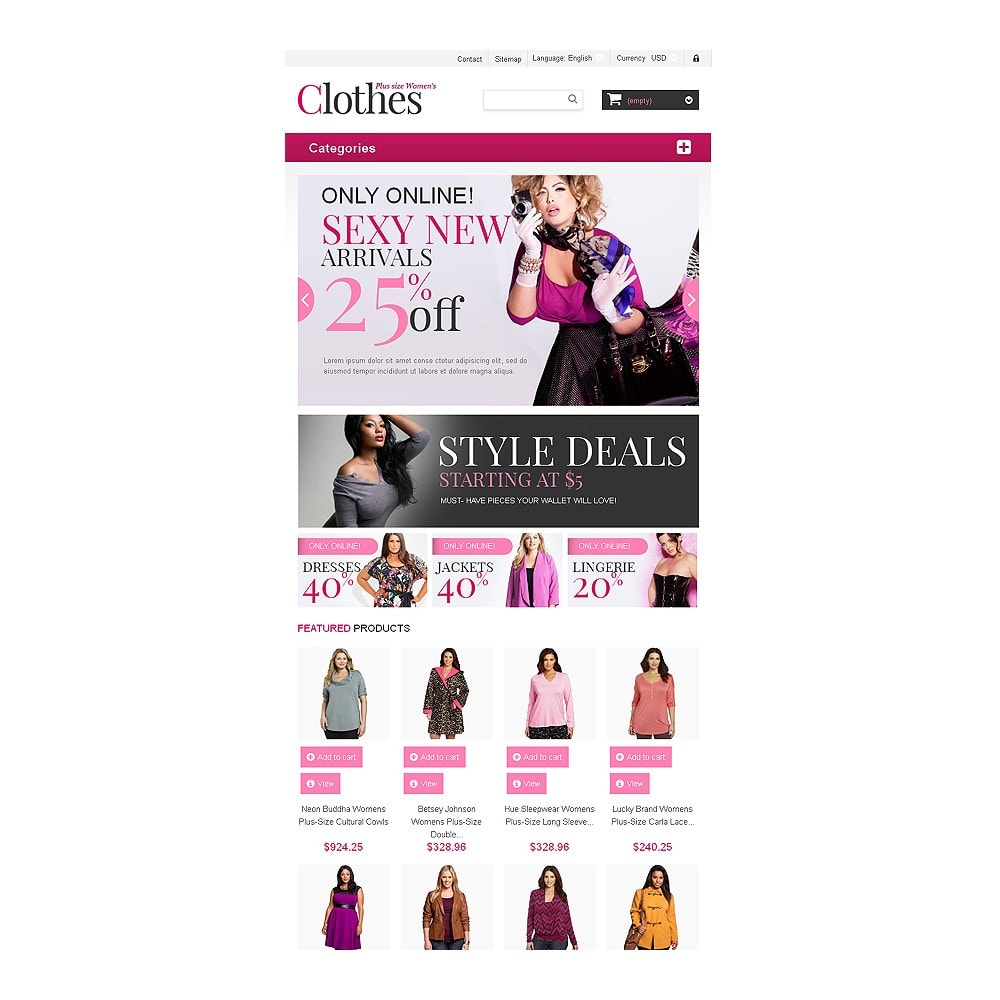 theme - Moda & Obuwie - Plus Size Clothes Store - 7