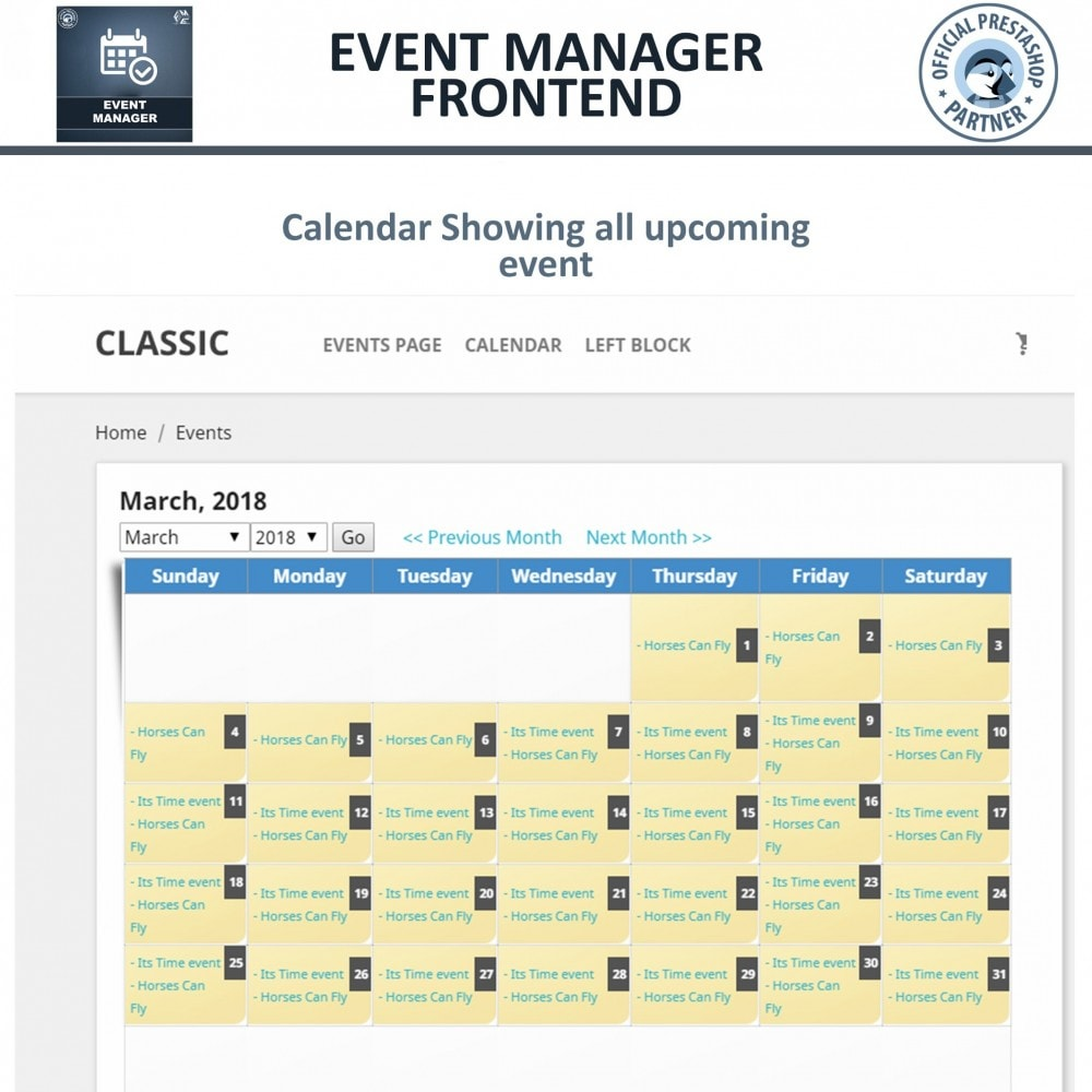 module - Reservation & Rental System - Events Manager, Create events & Sell tickets Online - 6