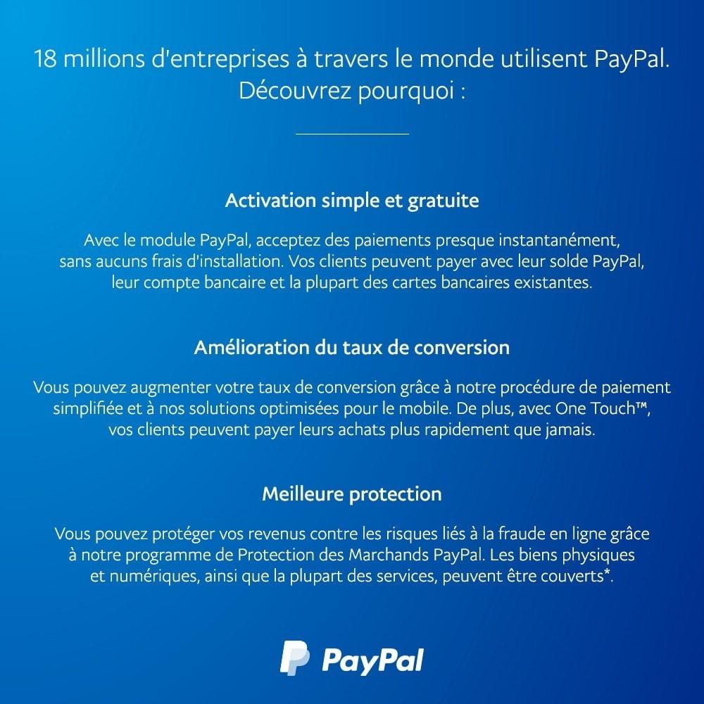 module - Paiement par Carte ou Wallet - PayPal Officiel - 4