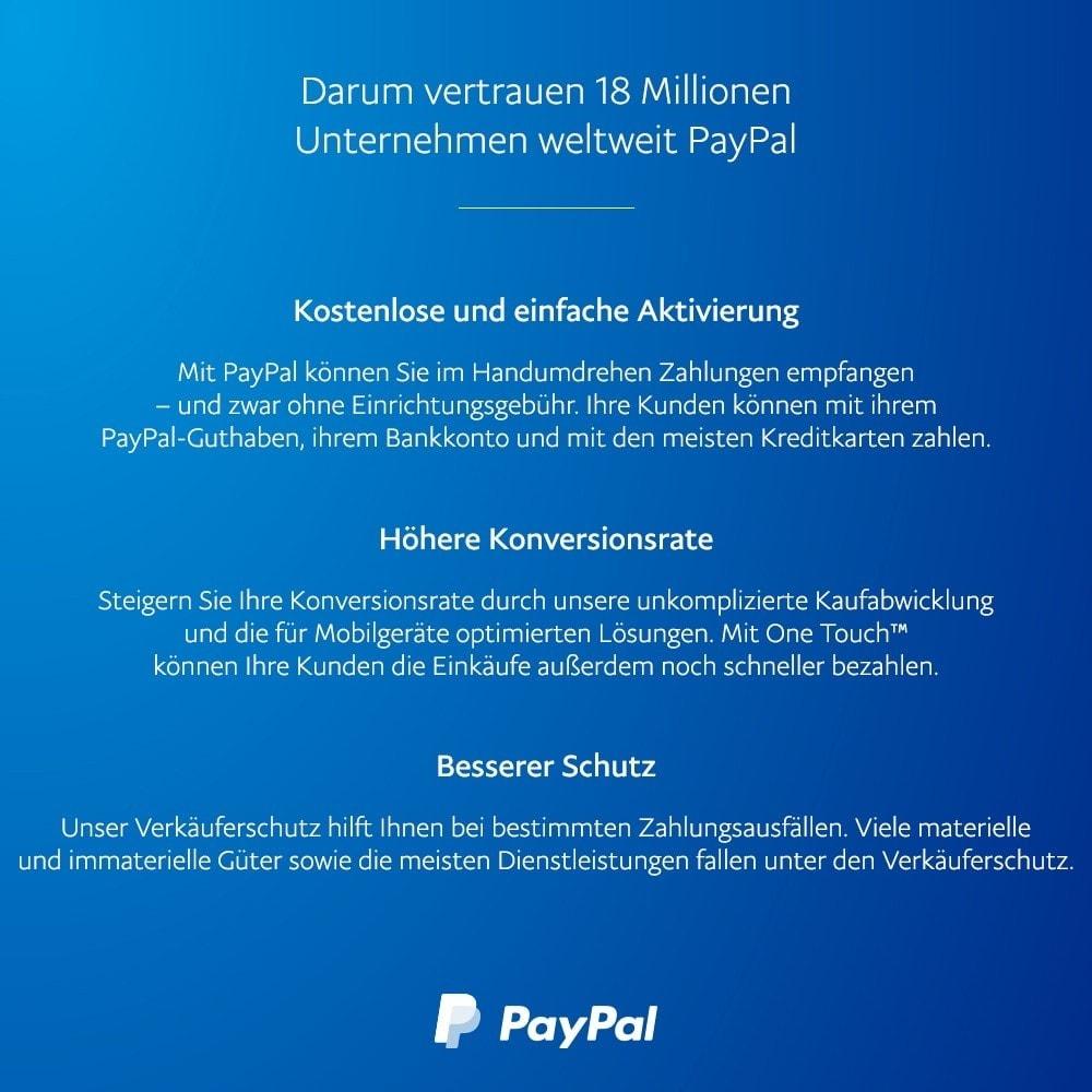 module - Zahlung per Kreditkarte oder Wallet - Offizielles PayPal - 4