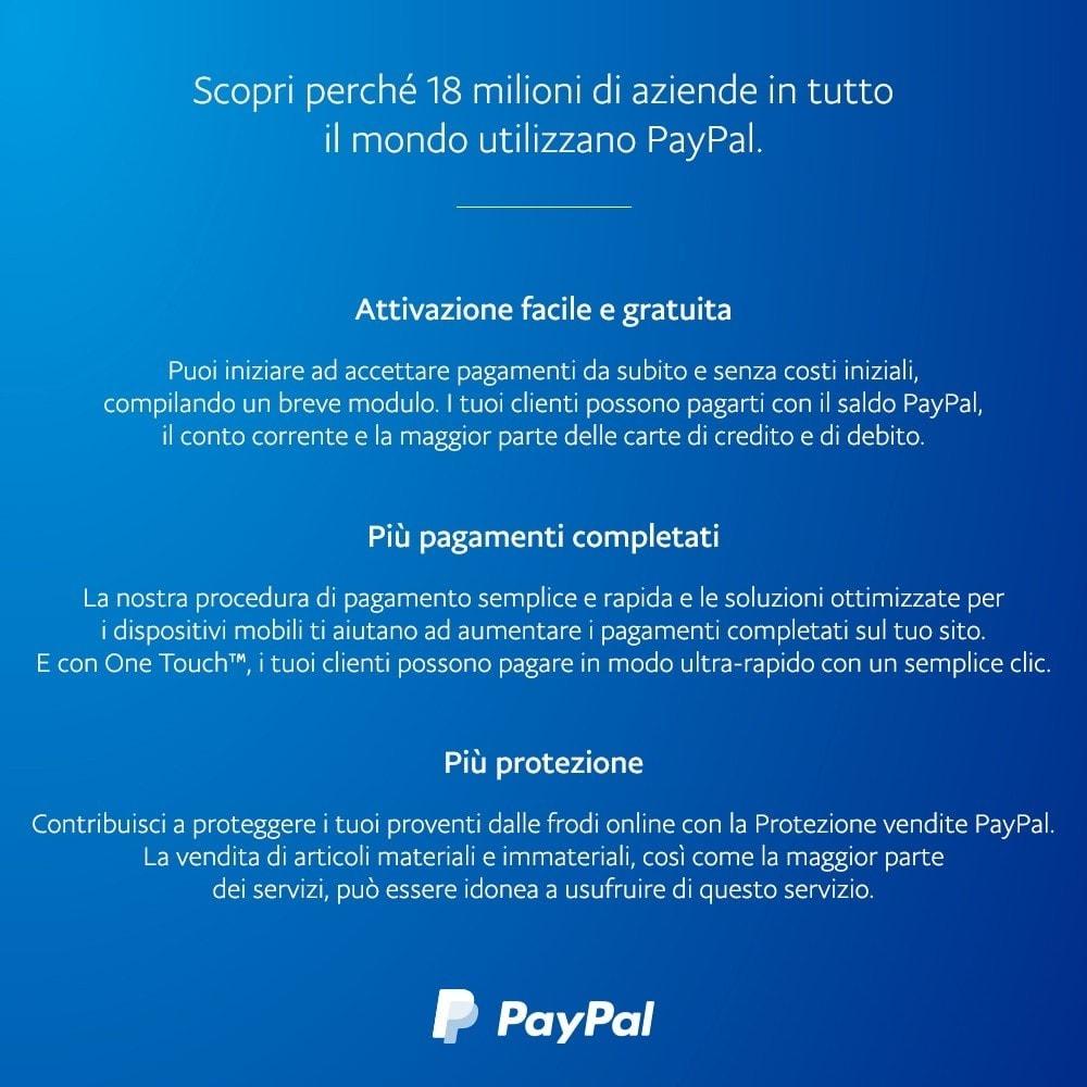 module - Pagamento con Carta di Credito o Wallet - ufficiale di PayPal e Braintree - 4