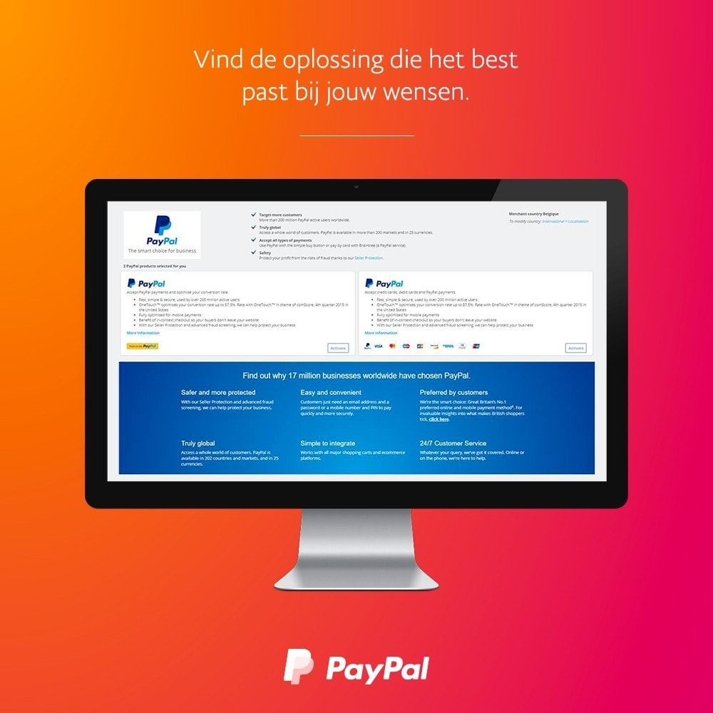 module - Creditcardbetaling of Walletbetaling - Officiële PayPal - 2