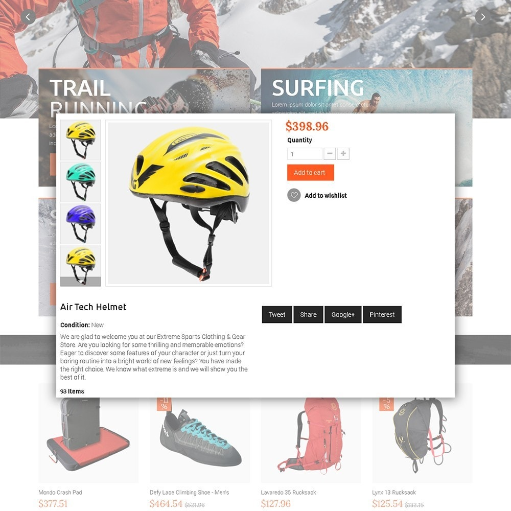 theme - Sports, Activities & Travel - Extreme - Extreme Clothes & Gear - 4