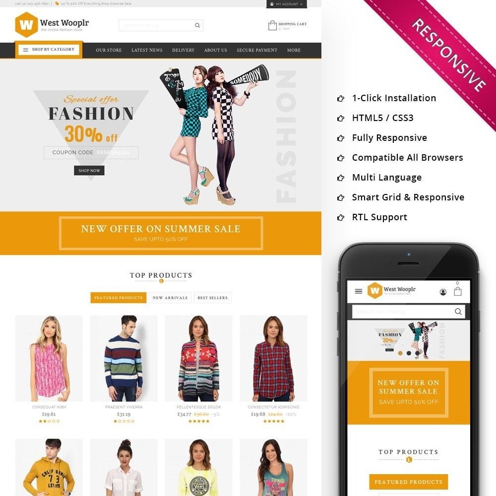theme - Moda & Calzature - West Wooplr - Fashion Market - 1