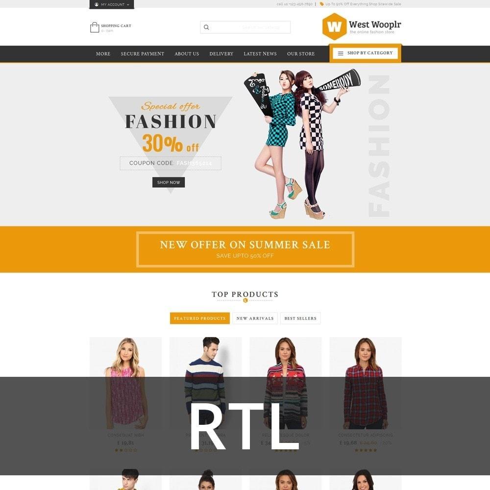 theme - Moda & Calzature - West Wooplr - Fashion Market - 3