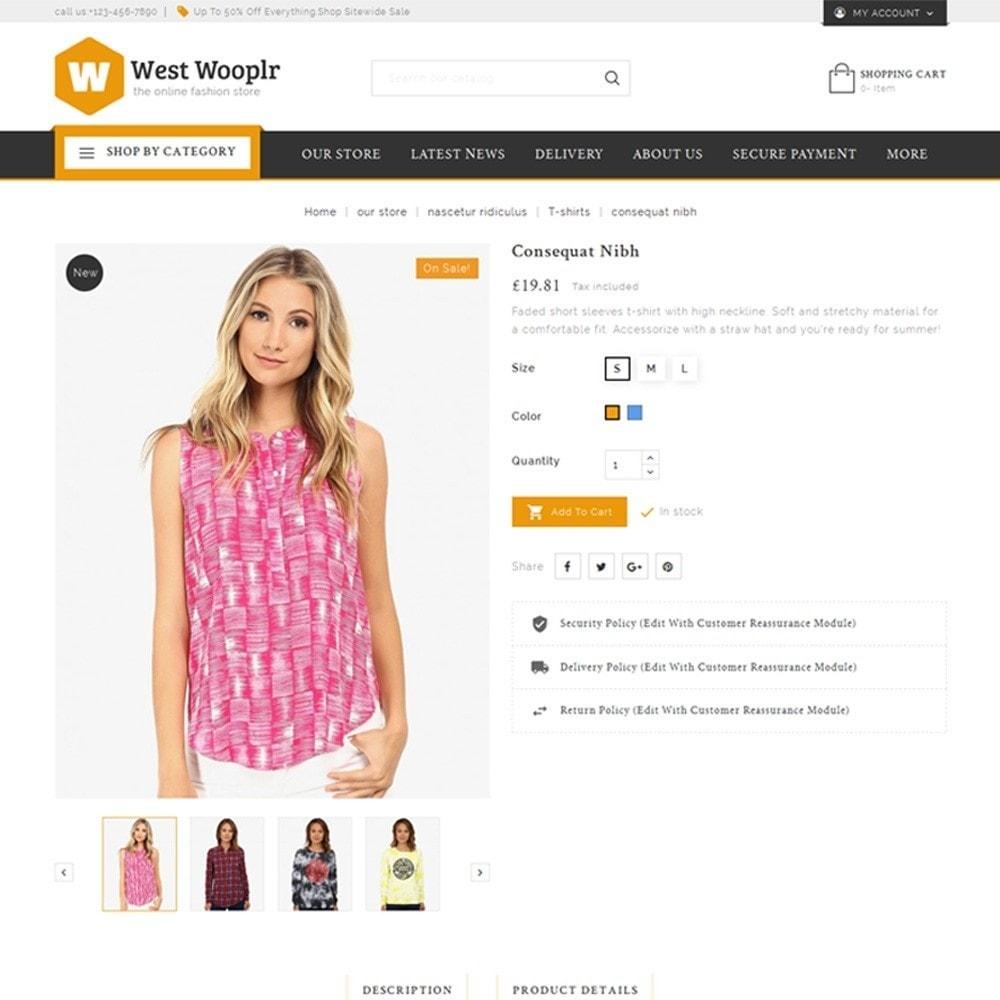 theme - Moda & Calzature - West Wooplr - Fashion Market - 6