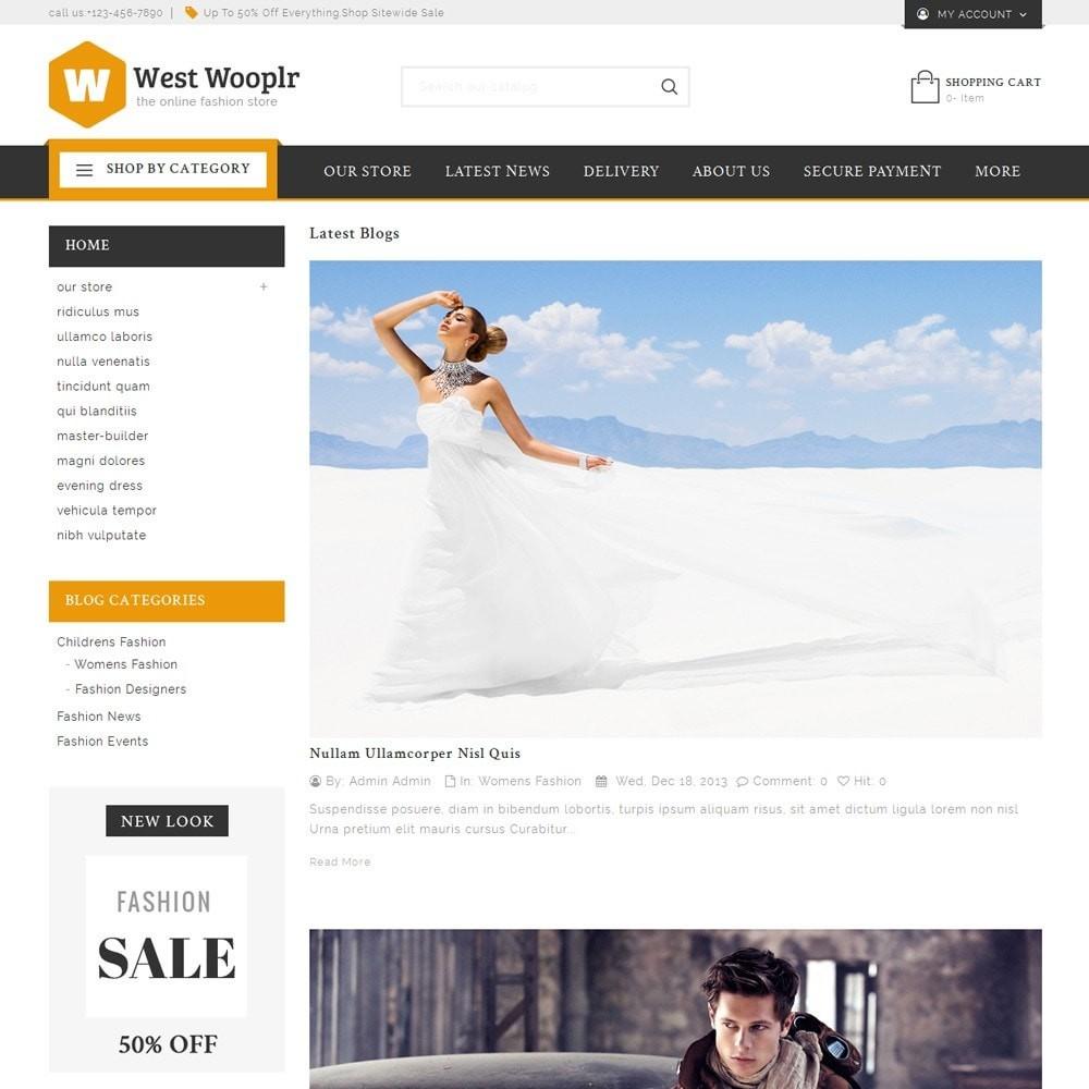 theme - Moda & Calzature - West Wooplr - Fashion Market - 7