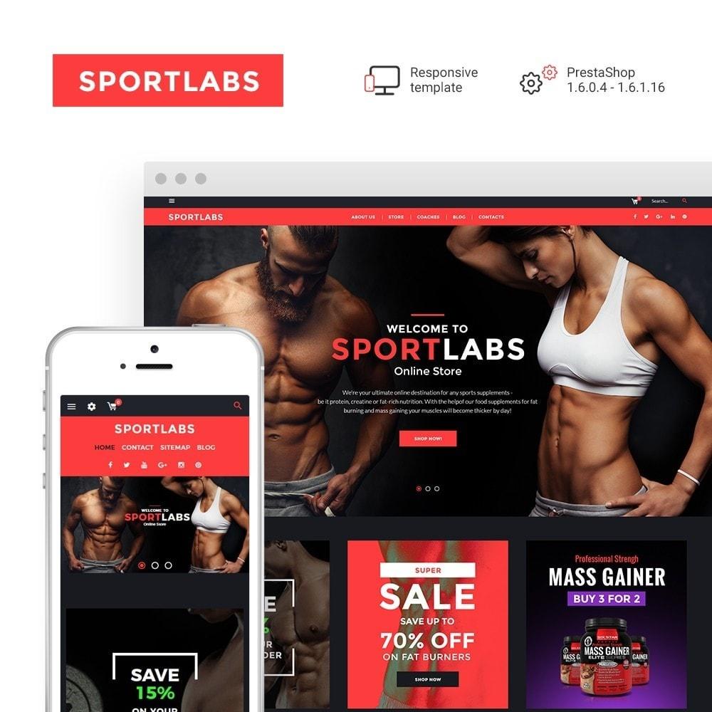 theme - Sport, Rozrywka & Podróże - SportLabs - Sports Nutrition - 1