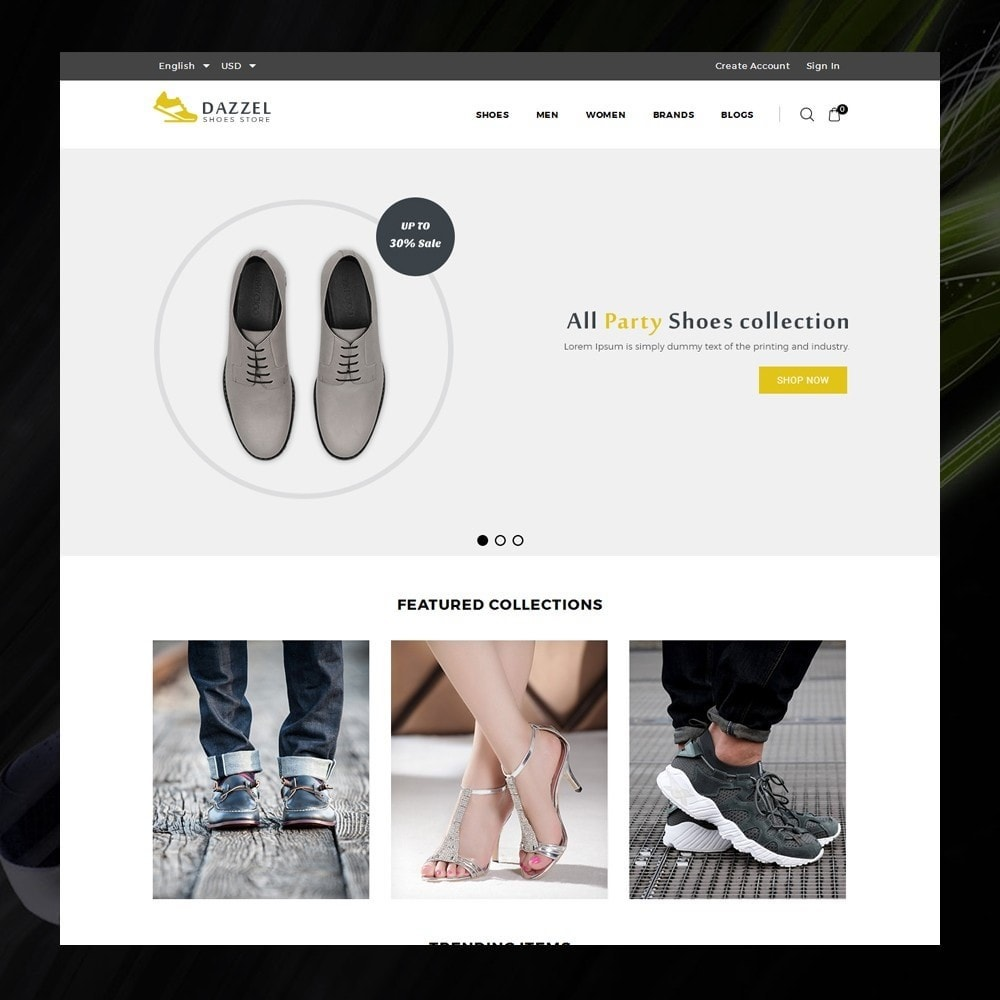 theme - Moda & Calzature - Dazzel - Shoes store - 2