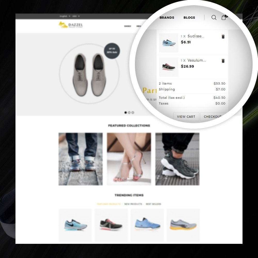 theme - Мода и обувь - Dazzel - Shoes store - 6
