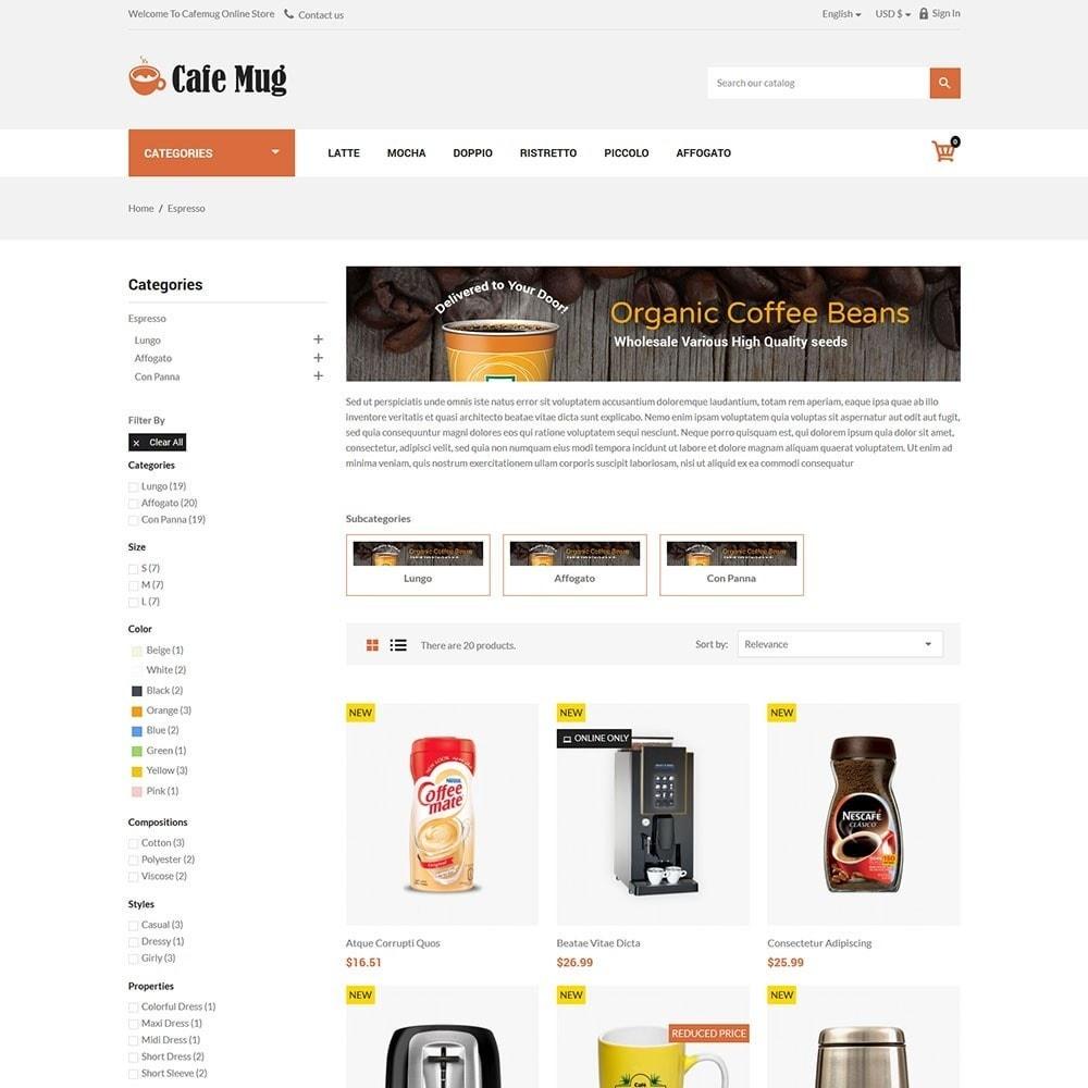 theme - Żywność & Restauracje - Cafemug - Coffee Online Store - 3
