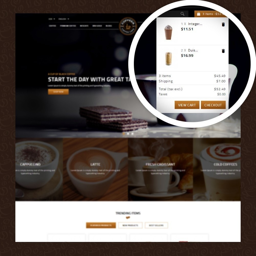 theme - Gastronomía y Restauración - Coffeea - Coffee shop - 6