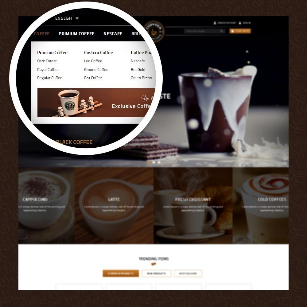 theme - Gastronomía y Restauración - Coffeea - Coffee shop - 7