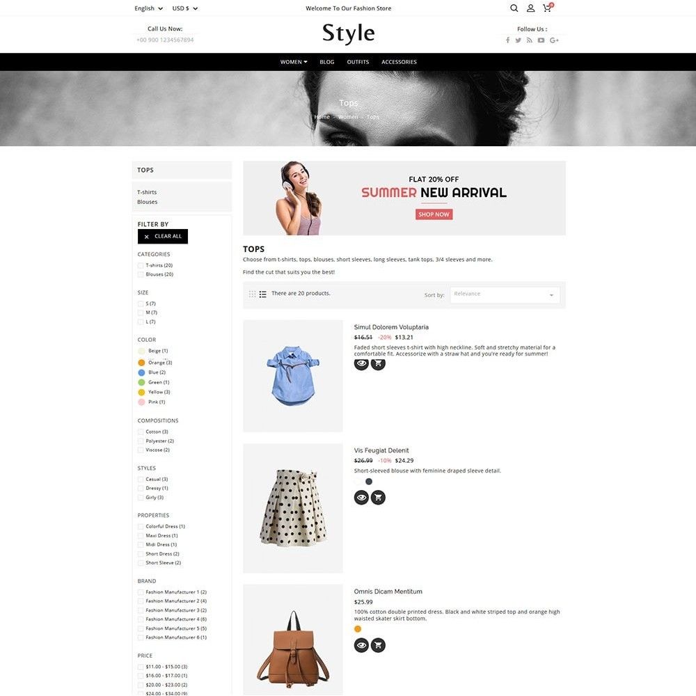 theme - Moda & Calzature - Style Fashion - 4